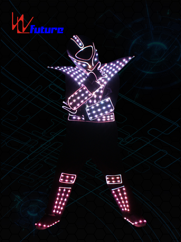 Super Lowest Price Professional Led Costumes - Programable LED & Fiber optic Jumpusit WL-0176 – Future Creative detail pictures