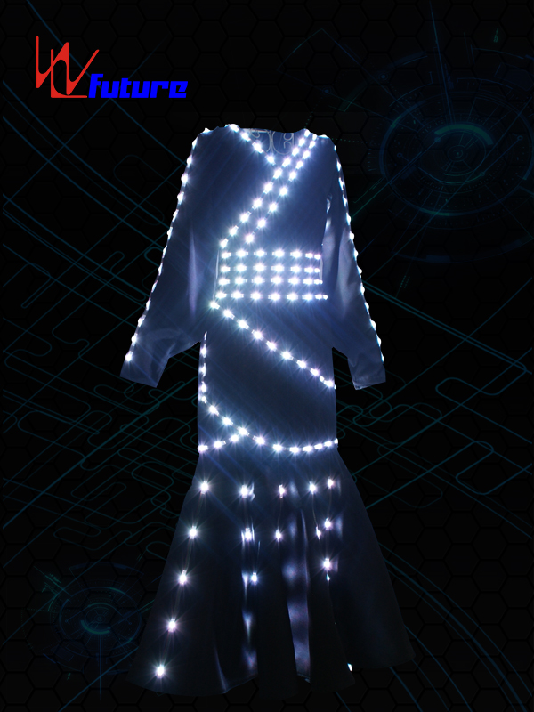 Cheap PriceList for Light Up Costume - Traditional Chinese LED dress for stage performance WL-0205 – Future Creative