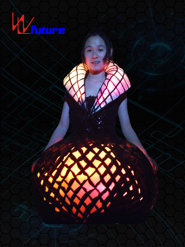 2018 High quality Blinking Led Jumpsuit - Custom Rainbow LED Lantern Costume for Performance WL-09 – Future Creative