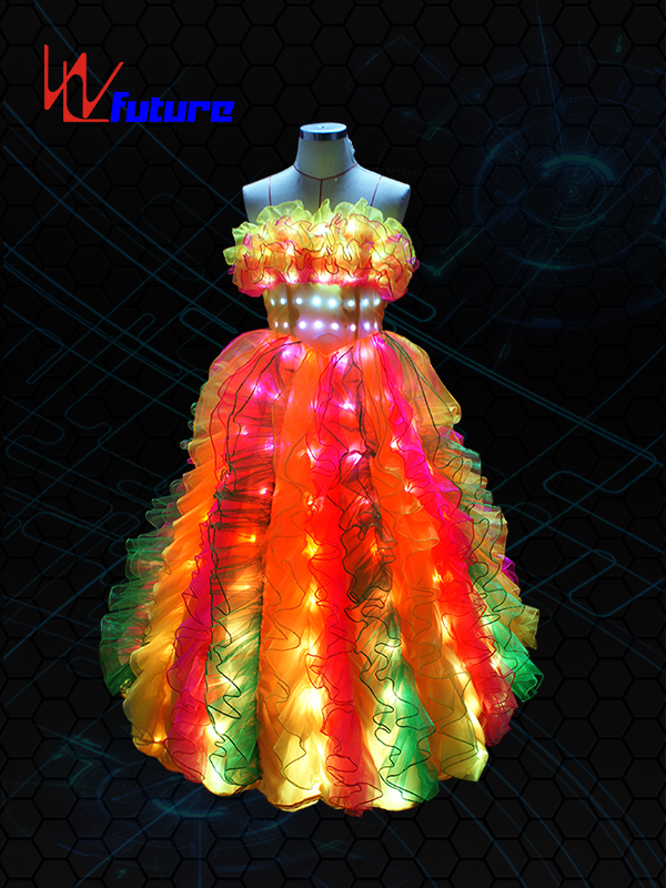 New Fashion Design for Led T Shirt Diy - Light up Dress LED Lighting Clothes WL-06 – Future Creative
