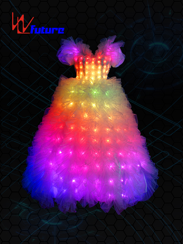 Original Factory Pixel Dress - Wholesale Luminescent Clothes Armor Led Light Dress Ballet Suit For Club Party Stage Dance Wear Luminous Sleeveless Jacket Waistband Set – Future Creative