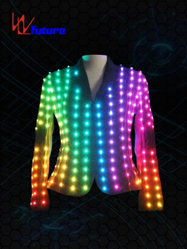 Fast delivery Luminous Dance Costume Adult Female Costume Light Balance Costumes Led Embroidery Performance Dancing Clothes