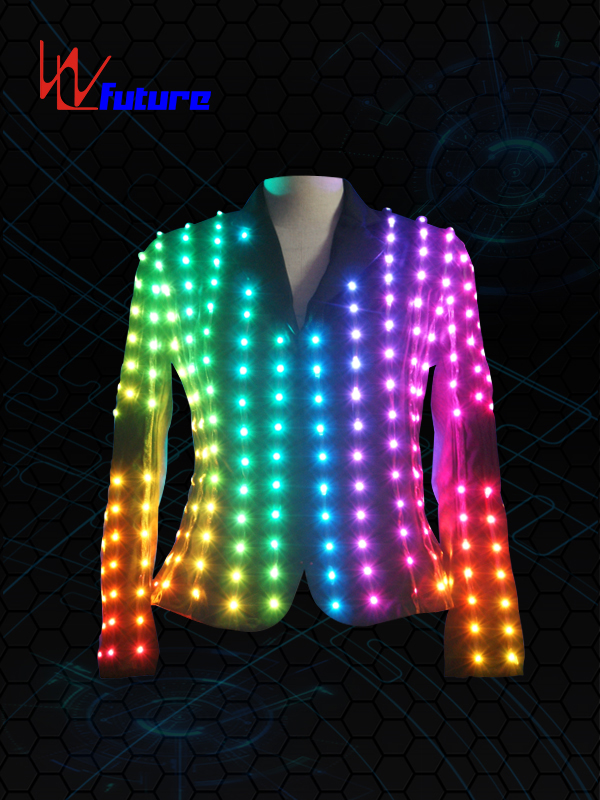 China Supplier Led Light Strip For Clothes - Full Color LED Pixel Jacket WL-019 – Future Creative