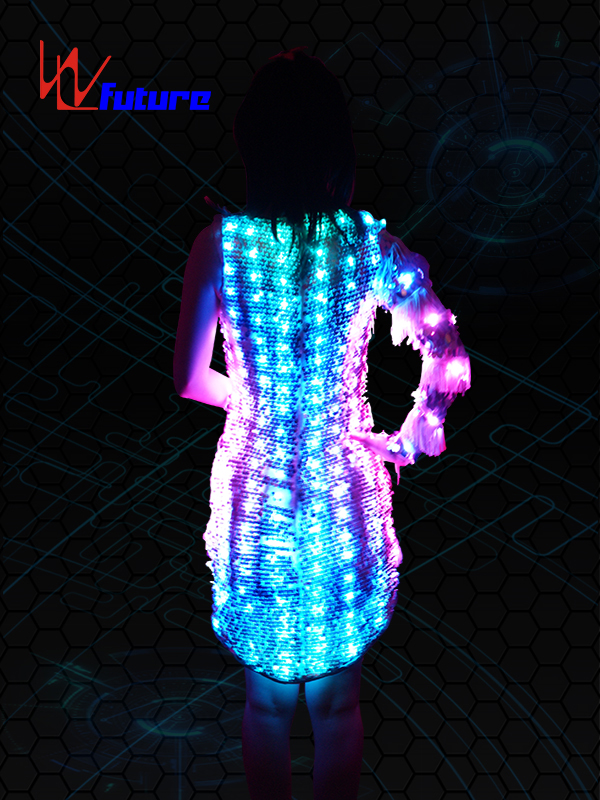 Factory selling Light Up Tron Suit - Sexy LED Light up Skirt WL-089 – Future Creative