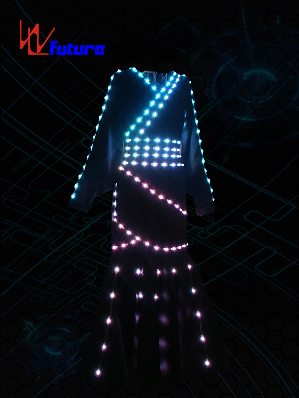 Chinese wholesale Light Up Motorcycle Jacket - Traditional Chinese LED dress for stage performance WL-0205 – Future Creative