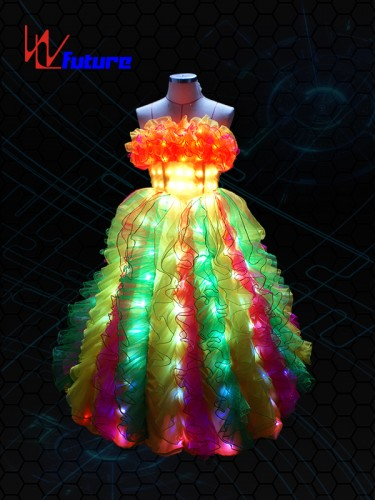 LED Light Up Prom Dress For Dance Show WL-06