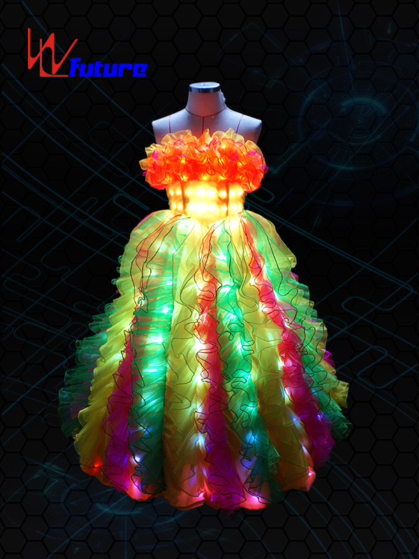 Manufacturer of Led Umbrella Diy - LED Light Up Prom Dress For Dance Show WL-06 – Future Creative