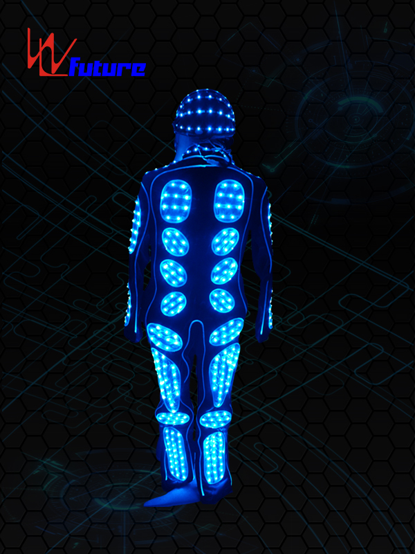 Bottom price Led Dress - Female Tron Dance Costume with LED Light WL-063 – Future Creative Featured Image