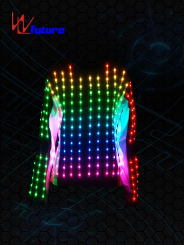 Full color LED Pixel T-shirt Costume WL-077