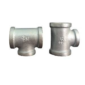 China Promotional Plain Malleable Iron Pipe Fitting