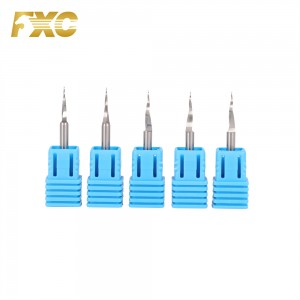 non-standard carbide end mill for aluminum