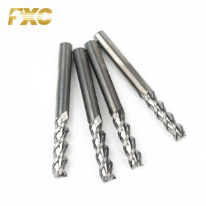 3 Flutes Carbide Longer Length Milling Cutter Aluminum End Mill