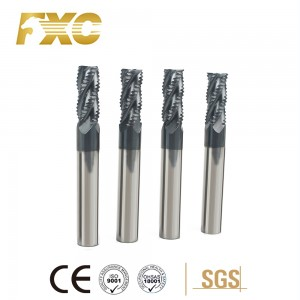 roughing end mill para sa bakal