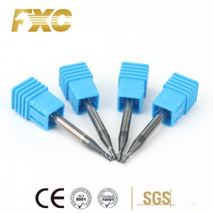 Chinese Professional Solid Carbide End Mill -