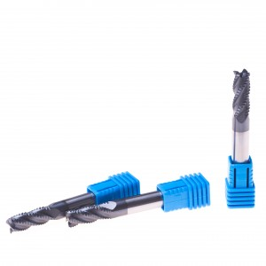Carbide Roughing End Mill CNC Cutting Tool