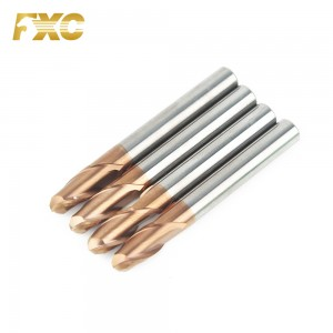 Solid Carbide Ball nose End Mill