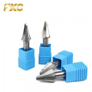 taper forming end mill