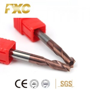 China Wholesale Carbide Ball End Milling Cutter -