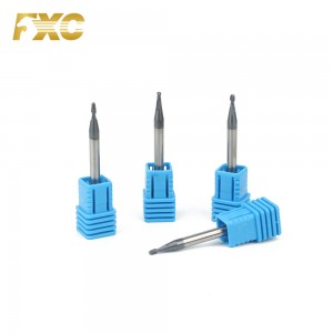 Solid Carbide Micro End Mill Steel Milling Cutter