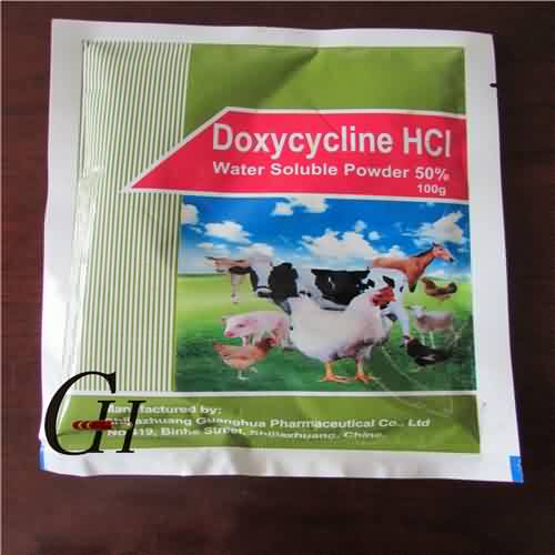 Doxycycline HCL Wateroplosbare poeier 50%