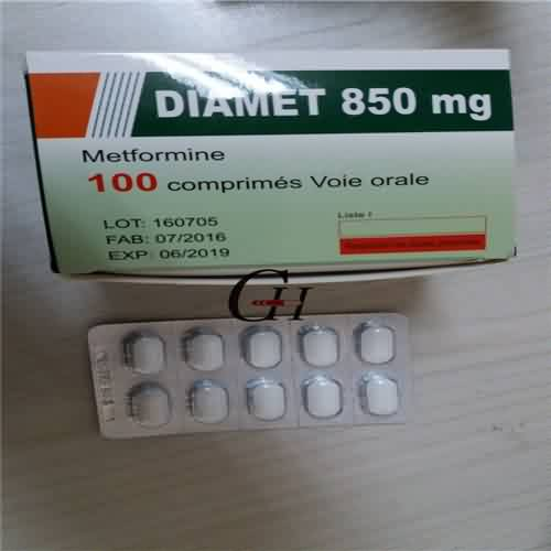 Metformin Tablets BP 850mg