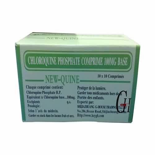 C18H32ClN3O8P2 Chloroquine Phosphate Tablets