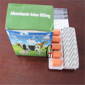 600mg Antiparasitic Albendazole सांस