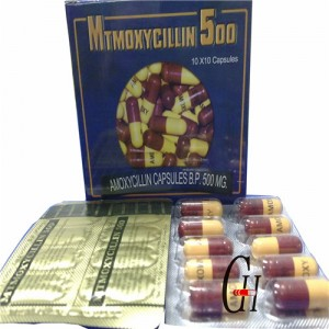 Antibiotics Amoxicillin 500mg