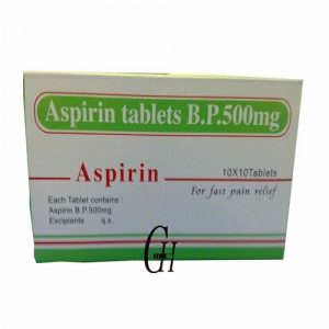 Aspirin Uncoated Tablets