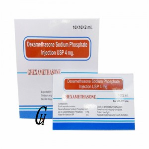 Hormone Dexamethasone natriumi Fosfat Injection