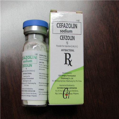 Antibiotics cefazolin Sodium para sa Injection Itinatampok na Larawan