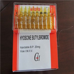 Scopolamine Butylbromide Injection 20mg/2ml