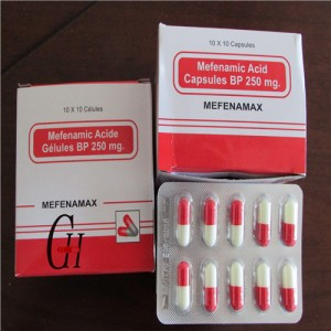 Antipyretic Mefenamic Capsules
