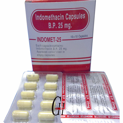 Indomethacin Capsules 25mg Dosage Featured Image