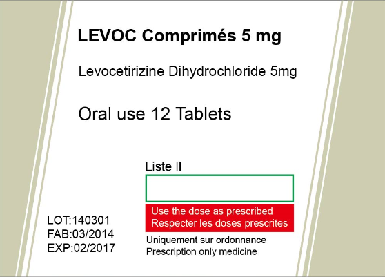 Levocetirizine Dihydrochloride Tablets Featured Image