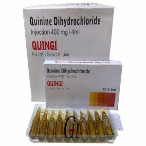 400mg/4ml Antiparasitic Quinine Dihydrochloride Injection