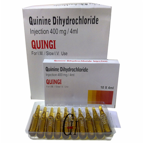 400mg/4ml Antiparasitic Quinine Dihydrochloride Injection Featured Image