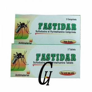 Antiparasitic Sulfadoxine & Pyrimethamine Tablets