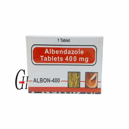 Antiparasitic Albendazole Tablets 400mg Featured Image