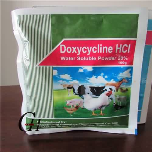 Doxycycline HCL Dlo soluble Powder 20%