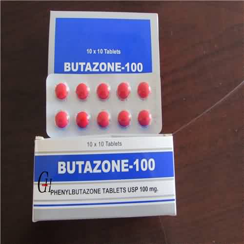 Phenylbutazone Tablojdoj 100mg