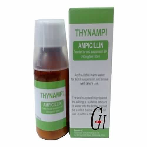 Ampicillin Powder for Oral Suspension
