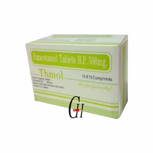 Paracetamol Tablet BP 500 mg