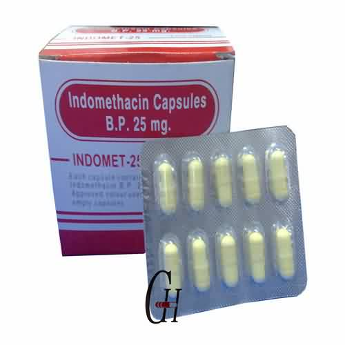 Indomethacin Kapsuloj 25mg