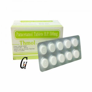 Antipirético paracetamol Tablojdoj 500mg