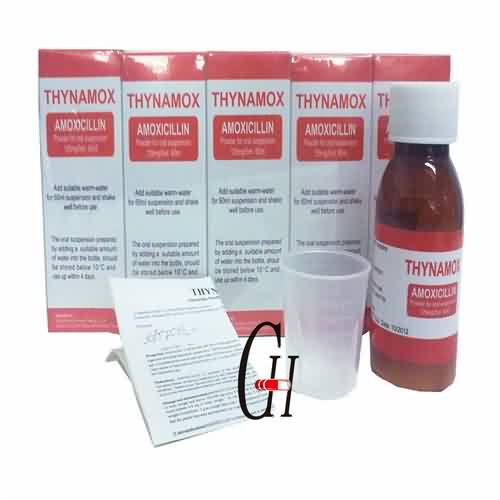 Amoxicillin mikstur 125 mg / 5 ml