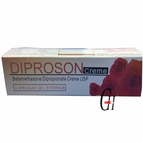 Dipropionate betamethasone USP 30g Krema