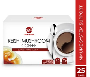 Ganoderma Cafe Hot Selling High Quality Ganoderma Organo Gold Gourmet Black Coffee with My Own Brand