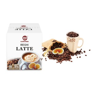 Hot Selling Högkvalitativ Ganoderma Reishi Mushroom Latte Coffee grossist