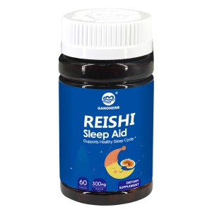 GANOHERB Reishi Mushroom Sleep Aid with Organic Ganoderma Spore Powde+Melatonin- Anxiety &Insomnia Relief, Non-GMO & Gluten Free,100% Natural,Non-Habit,Sleeping Pills for Adults,60 Veggie...